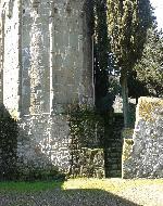 retro abbazia San Martino in Campo